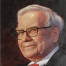 Oil portrait of celebrity - Warren Buffet