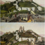 Corfe Castle painting with realism and impressionism style